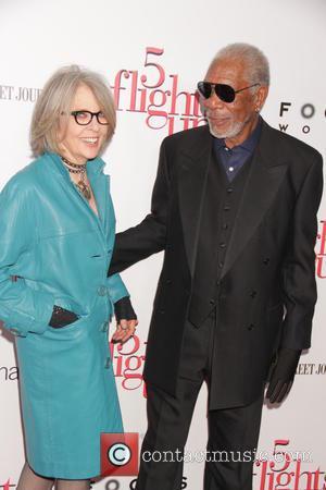 Diane Keaton and Morgan Freeman