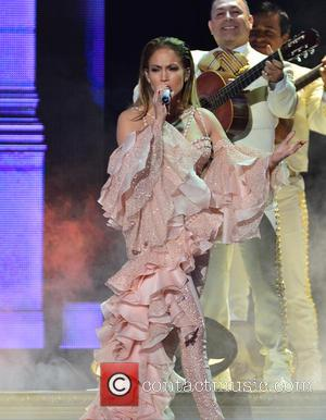 Jennifer Lopez - 2015 Billboard Latin Music Awards presented by State Farm on Telemundo - Show at BankUnited Center -...