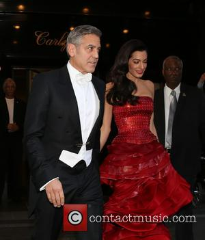 George Clooney, Amal Clooney and Amal Alamuddin - Met Gala -  'China: Through The Looking Glass' Costume Institute Benefit...