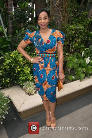 Anika Noni Rose - Celebrities attend The Associates For Breast and Prostate Cancer Studies Mother's Day luncheon at Four Seasons...