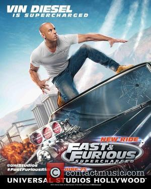 Vin Diesel - Universal Studios Hollywood's 'Road to Fast' campaign continues this week with a first look poster of Furious...