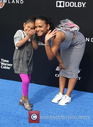 Christina Milian and Violet Madison Nash