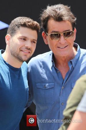 Charlie Sheen and Jerry Ferrara