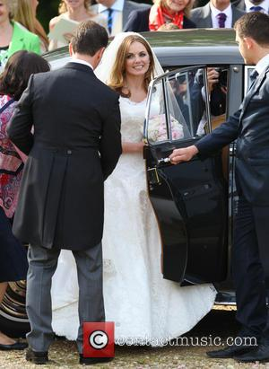 Geri Halliwell and Christian Horner - The wedding of Geri Halliwell and Christian Horner at St Mary's Church in Woburn...