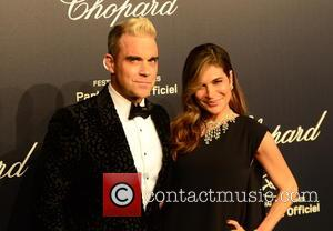 Robbie Williams and Ayda Field - 68th Annual Cannes Film Festival - Chopard Gold Party - Arrivals at Cannes Film...