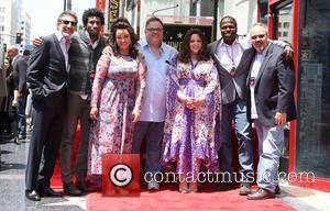 Chuck Lorre, Nyambi Nyambi, Katy Mixon, Melissa Mccarthy and Reno Wilson