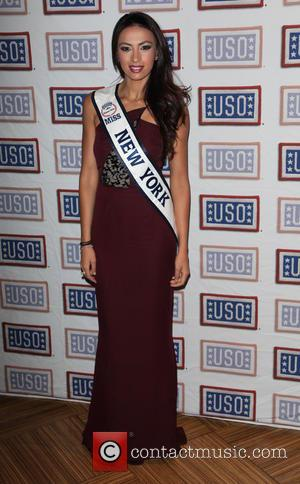 Iman Oubou - USO of NYC and Hard Rock Cafe host the official Fleet Week Kick Off Party - New...