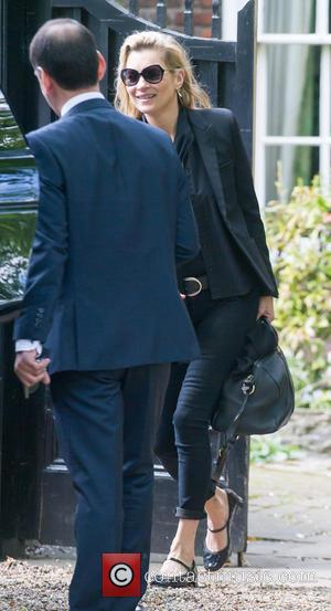 Kate Moss - Kate Moss out in North London - London, United Kingdom - Thursday 21st May 2015