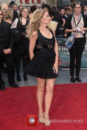 Kylie Minogue - San Andreas world premiere held at the Odeon Leicester Square - Arrivals. at Odeon Leicester Square -...