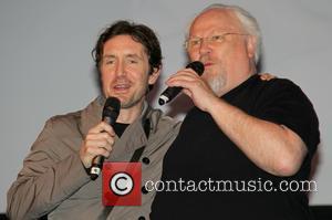 Paul Mcgann and Colin Baker
