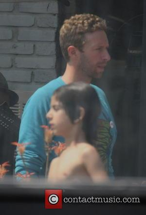 Chris Martin - Celebrities at Memorial Day Party hosted by Joel Silver - Los Angeles, California, United States - Monday...