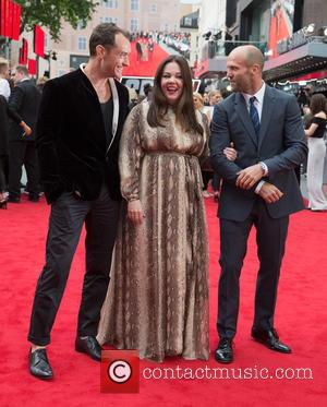 Jude Law, Jason Statham, Odeon Leicester Square, Melissa McCarthy