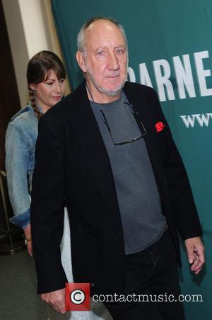 Pete Townshend and Rachel Fuller