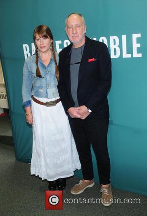 Rachel Fuller and Pete Townshend