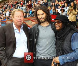 Harry Redknapp, Russell Brand and Maxi Priest