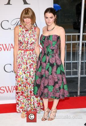 Anna Wintour and Bea Schafer