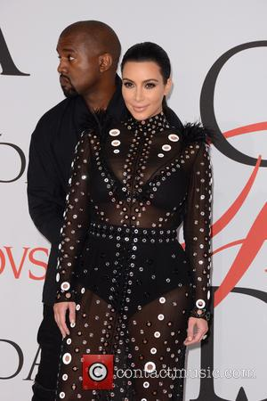 Kanye West and Kim Kardashian - 2015 CFDA Fashion Awards - Arrivals - New York City, New York, United States...