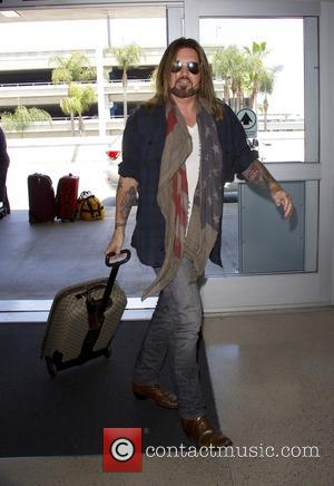 Billy Ray Cyrus - Billy Ray Cyrus arrives at Los Angeles International Airport (LAX) at LAX - Los Angeles, California,...
