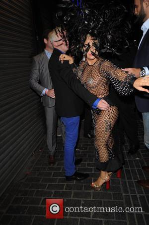 Lady Gaga - Lady Gaga head of to The Box nightclub after Albert Hall show - London, United Kingdom -...