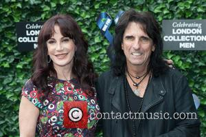 Alice Cooper and Sheryl Goddard - LCM s/s 2016: One For The Boys Charity Ball held at the Roundhouse -...