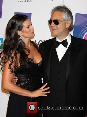 Andrea Bocelli and Veronica Bocelli - Keep Memory Alive's 19th Annual Power Of Love Gala held at the MGM Grand...