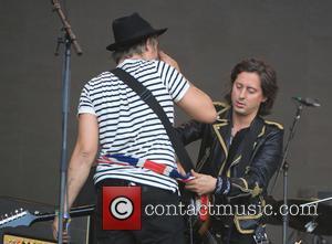 Pete Doherty, Carl Barat, Glastonbury Festival