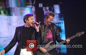 Simon Le Bon, John Taylor and Duran Duran