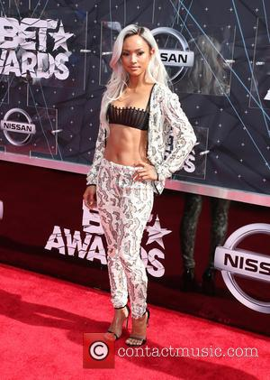 Karrueche Tran - 2015 BET Awards at the Microsoft Theater - Los Angeles, California, United States - Sunday 28th June...