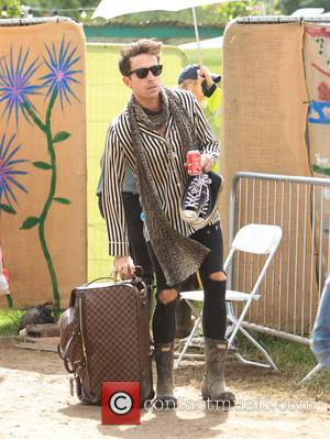 Nick Grimshaw - Glastonbury Festival 2015 - Day 5 - Celebrity Sightings at Glastonbury Festival - Somerset, United Kingdom -...