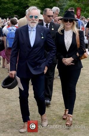 Roger Taylor and Sarina Potgieter - Goodwood Festival of Speed 2015 - Day 4 - Chichester, United Kingdom - Sunday...