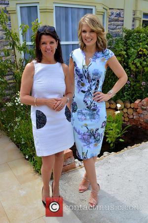 Dr Dawn Harper and Charlotte Hawkins