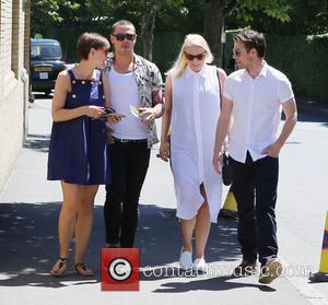 Emma Willis and Matt Willis - Wimbledon 2015 - Day 2 - Celebrity Sightings - London, United Kingdom - Tuesday...