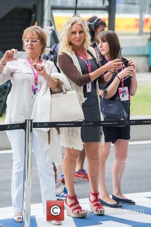Carol Vorderman - Formula 1 British Grand Prix at Silverstone - Race Day - Silverstone, United Kingdom - Sunday 5th...