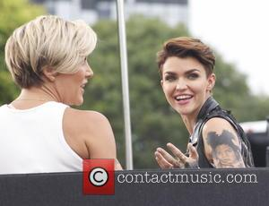 Ruby Rose - Ruby Rose appears on 'Extra' - Los Angeles, California, United States - Wednesday 8th July 2015