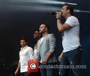 Blue, Lee Ryan, Duncan James, Simon Webbe and Antony Costa