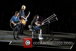Dave Grohl Recovers From Leg Injury With Help Of Led Zeppelin