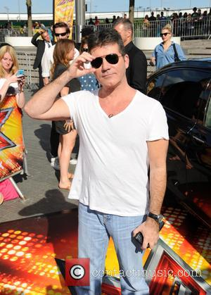 Simon Cowell - X Factor 2015 London Auditions held at Wembley Arena - Arrivals at x factor, Wembley Arena -...