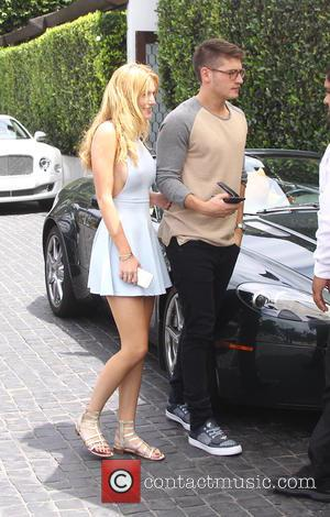 Bella Thorne and Gregg Sulkin out and about in Los Angeles - Los Angeles, California, United States - Tuesday 21st...