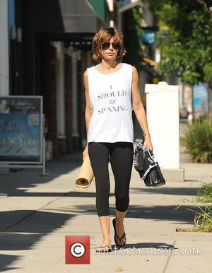 Lisa Rinna - Lisa Rinna out and about in Los Angeles with her yoga gear - Los Angeles, California, United...