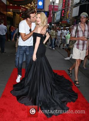 Scarlett Johansson, Madame Tussauds, Times Square