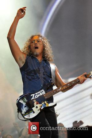 Kirk Hammett and Metallica