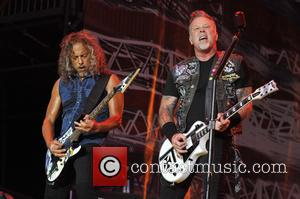 James Hetfield, Kirk Hammett and Metallica