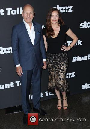 Patrick Stewart - Premiere of 'Blunt Talk' held at the DGA Theater - Arrivals - Los Angeles, California, United States...