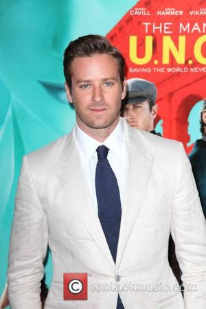 Armie Hammer Stole Character's Cap On Last Day Of Shooting