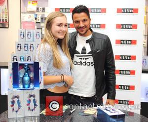 Peter Andre , Fan Charlotte Chatterley 17 from Aston - Peter Andre meets fans and promotes his latest fragrance Breeze...