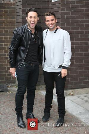 Joe Mcelderry and Antony Costa