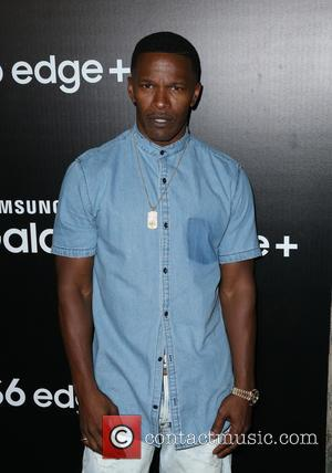 Jamie Foxx - Samsung Celebrates The New Galaxy S6 edge+ And Galaxy Note5 - Arrivals at The Lot Studios -...