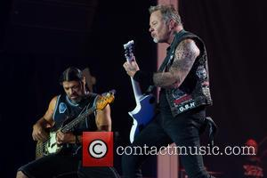 Metallica, Robert Trujillo and James Hetfield