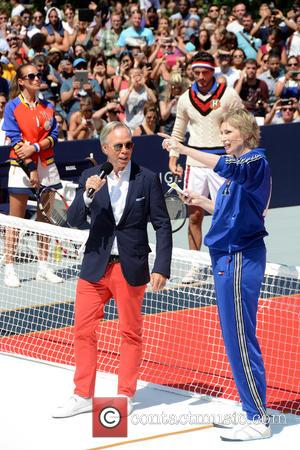 Tommy Hilfiger , Jane Lynch - Tommy Hilfiger and Rafael Nadal Launch Global Brand Ambassadorship - Manhattan, New York, United...