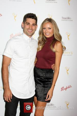 Justin Gaston and Melissa Ordway